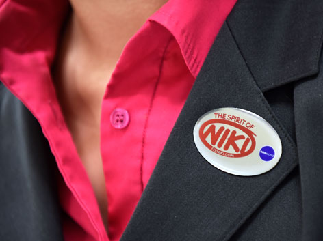 Fly Niki Mitarbeiterin