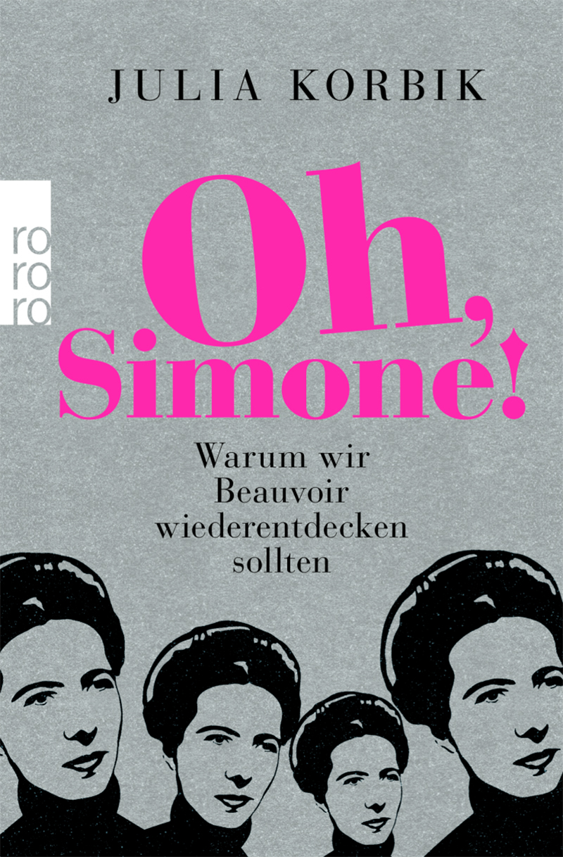 Illustration: Simone de Beauvoir