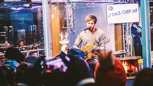 Max Giesinger beim Ö3-Weihnachtswunder