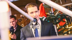 Bundeskanzler Sebastian Kurz zu Gast in Linz