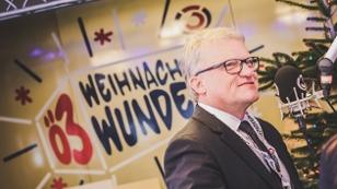 Der Linzer Bürgermeister zu Gast im gläsernen Ö3-Studio