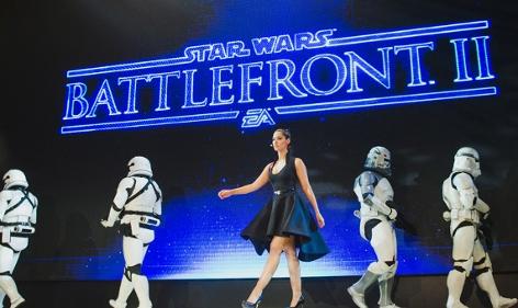 Präsentation Battlefron 2: Storm Trooper and a lady