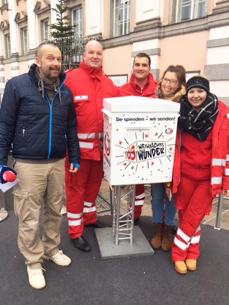 Rotes Kreuz spendet