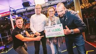 Kellner und Kunz spenden 14.000 Euro