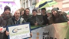 Die Landjugend Oberösterreich beim Ö3-Weihnachtswunder in Linz