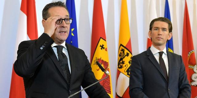 HC Strache und Sebastian Kurz