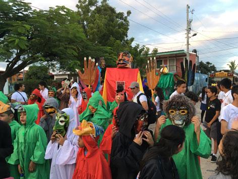 Nicaragua FEM Frauen Göttinnen Kinder Umwelt Protest