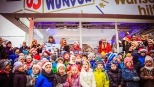Der Kinderchor der English Playschool Linz singt
