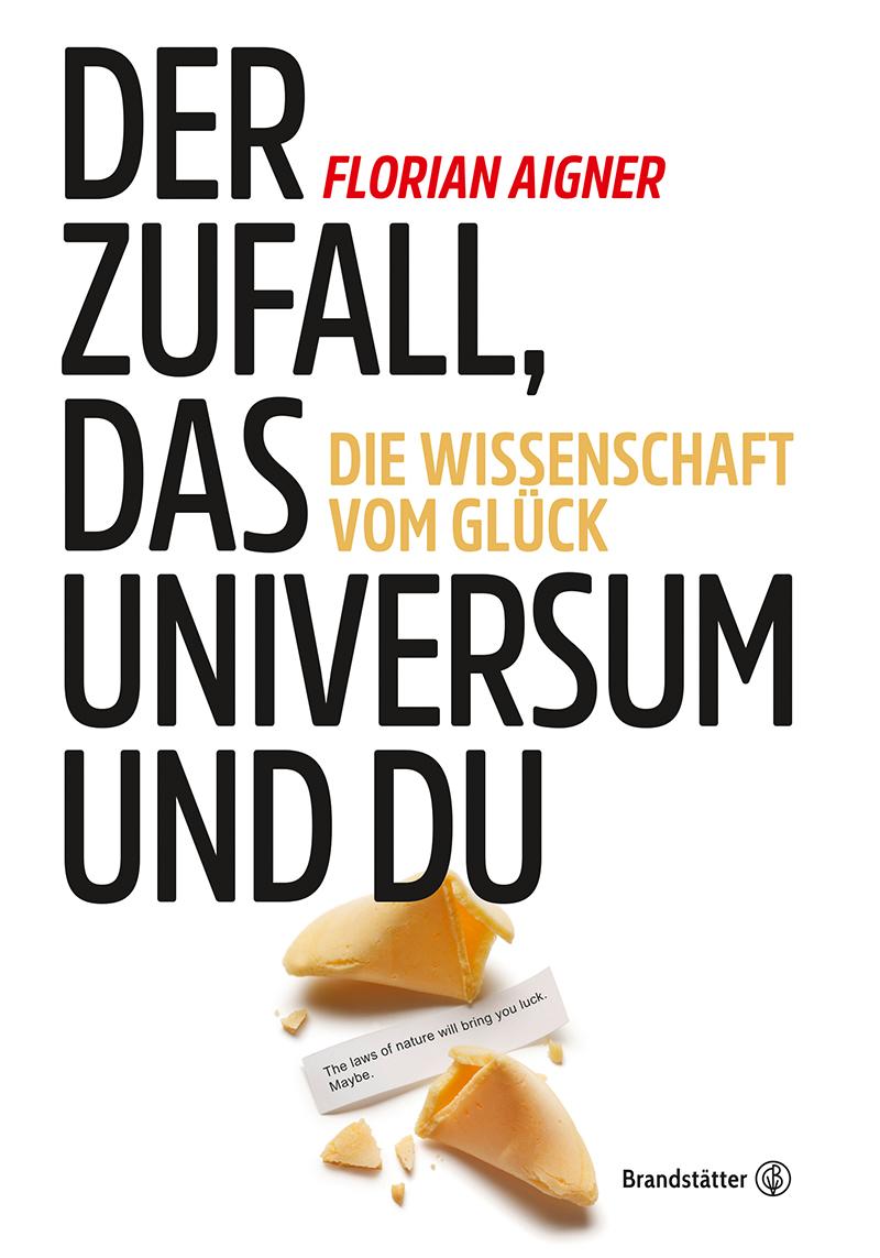 Buchcover mit Bild von Glückskeks