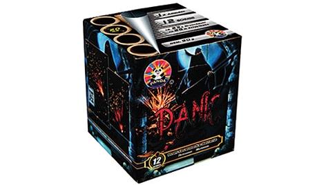 Feuerwerksbatterie Panic, 12 Schuss