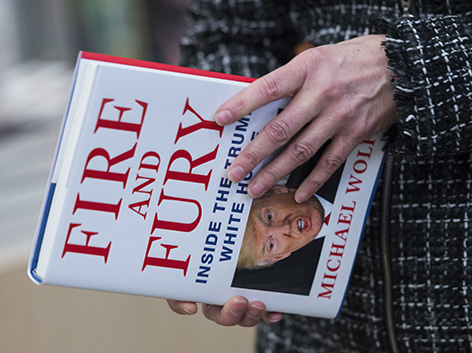 "Michael Wolffs Buch ""Fire and Fury"" über Donald Trump"