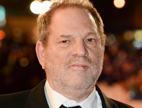 Harvey Weinstein lächelt