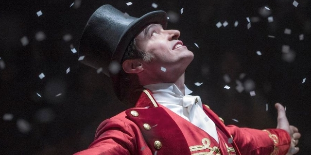 "Hugh Jackman in ""Greatest Showman"""