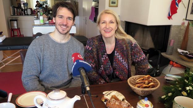 Claudia Stöckl zu Gast bei Felix Neureuther