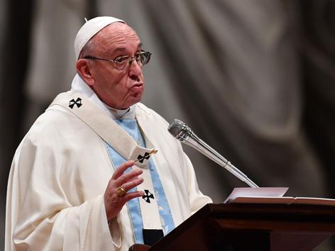 Papst Franziskus Neujahrsansprache