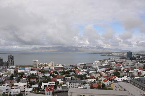 Reykjavik Hafen Kirche