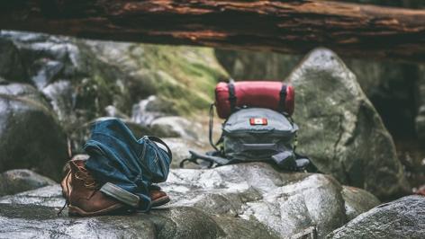 Camping, wandern