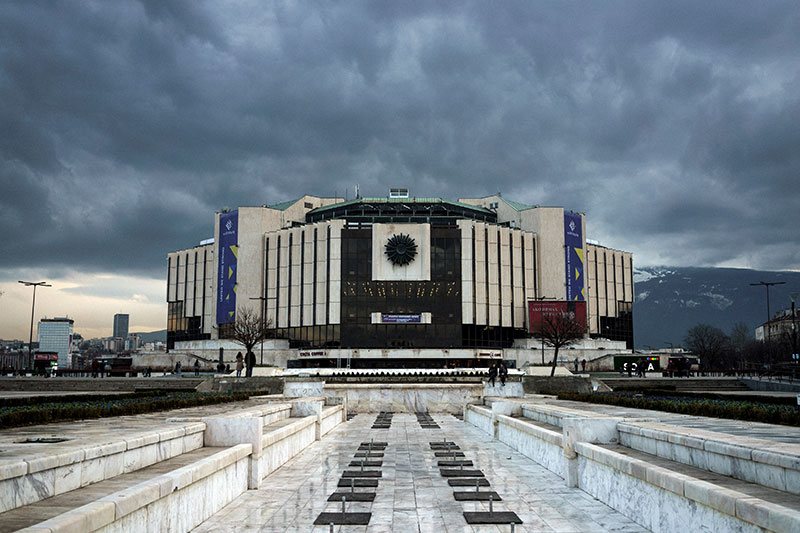 Kulturpalast in Sofia