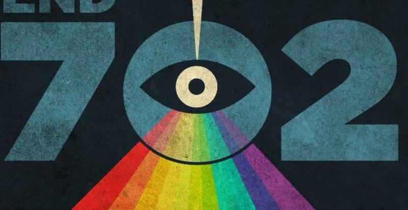 verfremdetes NSA-Logo