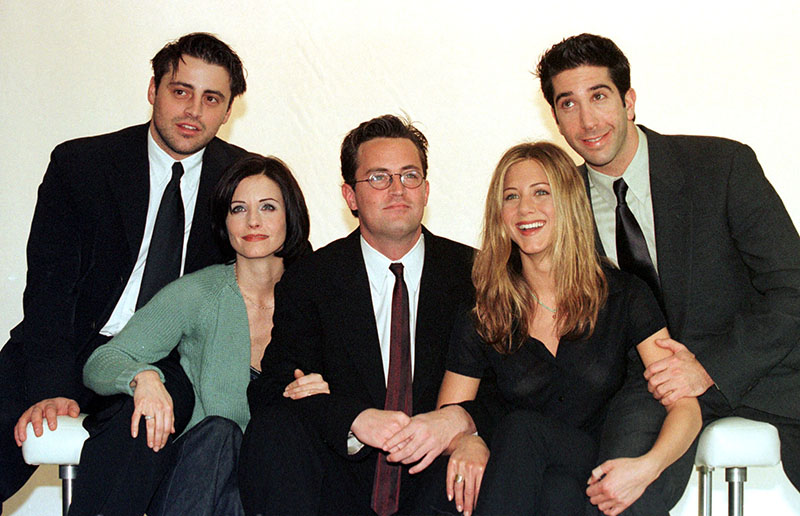 "Cast der TV-Serie ""Friends"""
