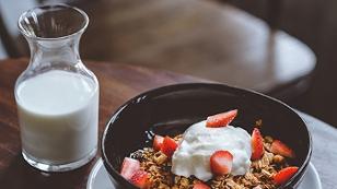 Milch und Joghurt