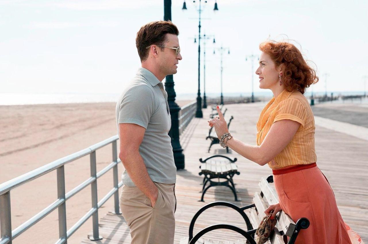 Justin Timberlake und Kate WInslet