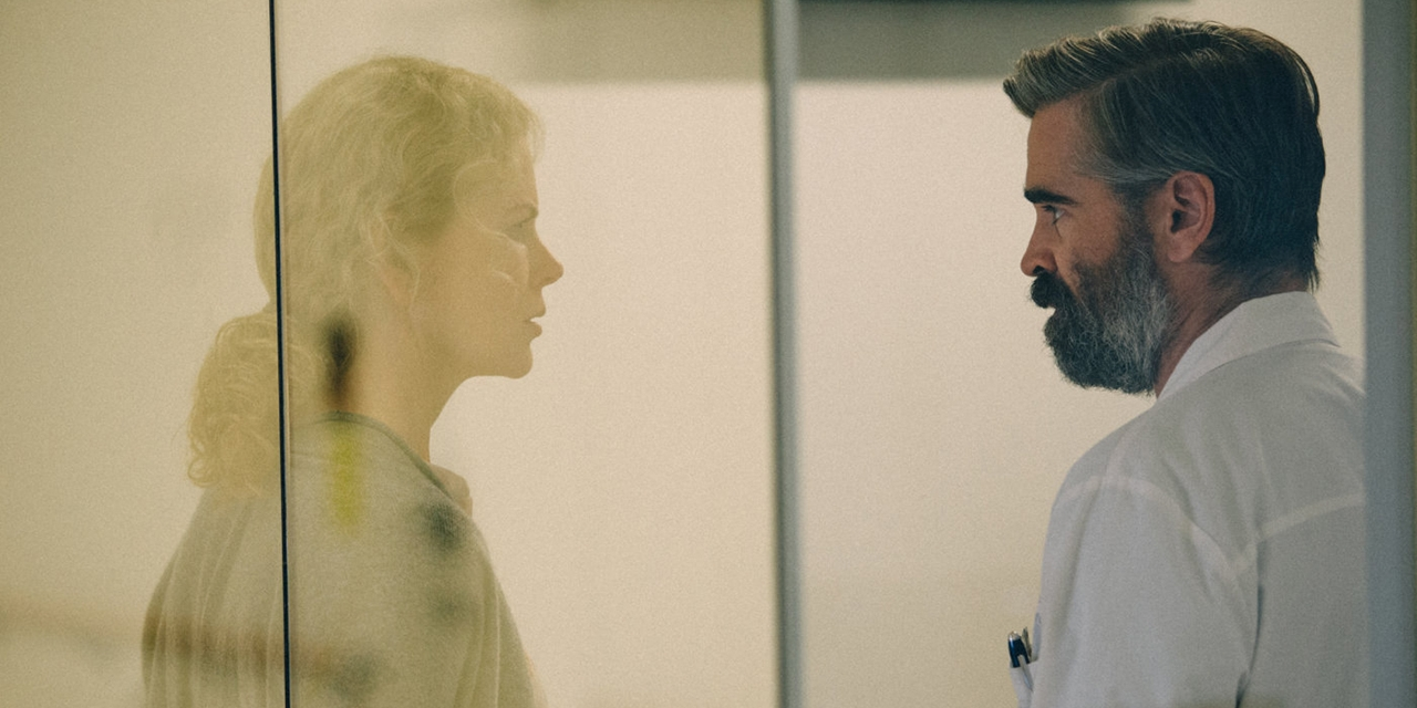 "Colin Farrell in ""The Killing of a Sacred Deer"""