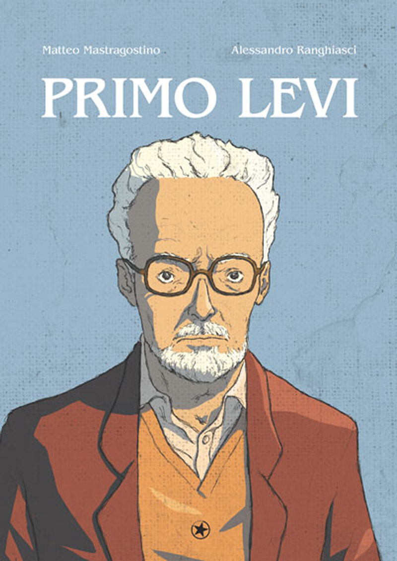 """Szenen aus der Graphic Novel """"Primo Levi"""""""