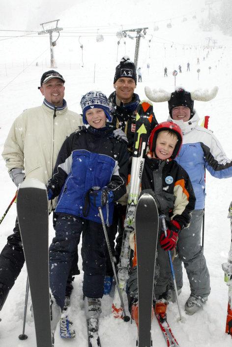 Das ganz normale Verhalten der Österreicher ...  im Winterurlaub