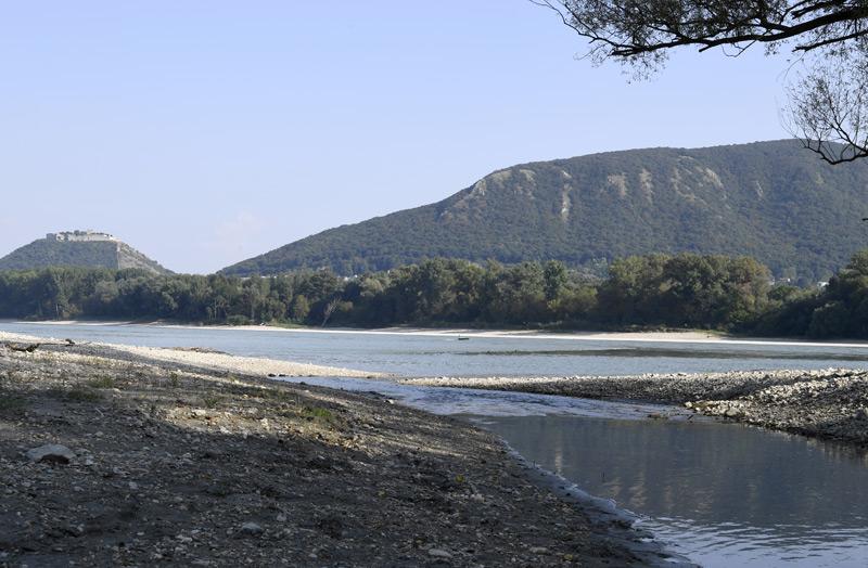 Die Donau durchfließt den Nationalpark Donau-Auen
