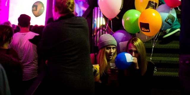 Gäste beim FM4 Geburtstagsfest