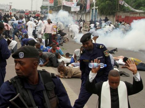 Polizei Katholoiken Kongo