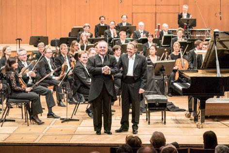 Konzert mit Mariss Jansons & Daniel Barenboim