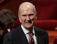 Der neue Präsident der Mormonen, Russel M. Nelson neben seiner Frau Wendy