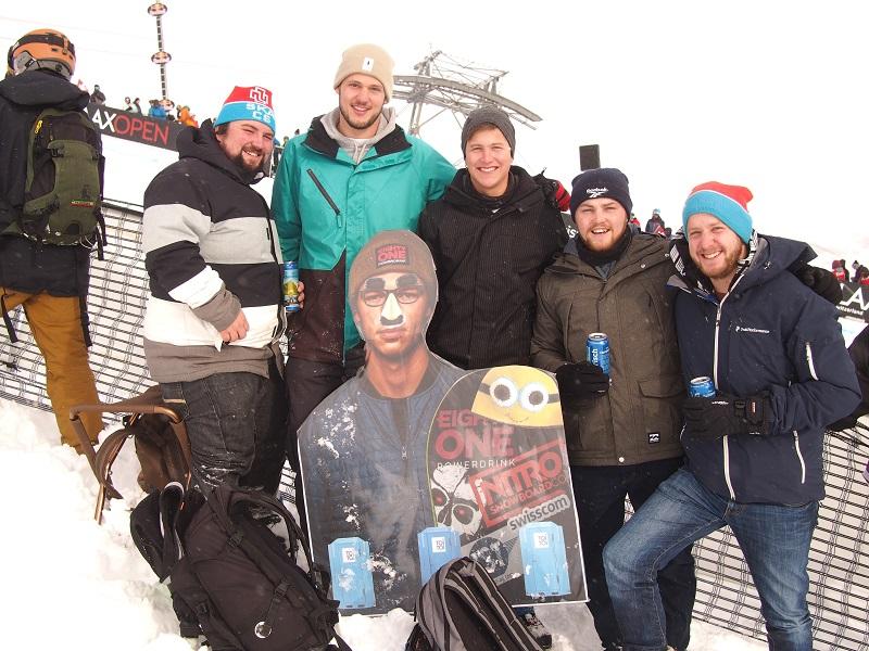 Bilder von den Laax Open 2018 - Snowboarderinnen und Snowboarder