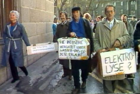 Im Brennpunkt  40 Jahre Grün: Auf und Ab einer Bewegung