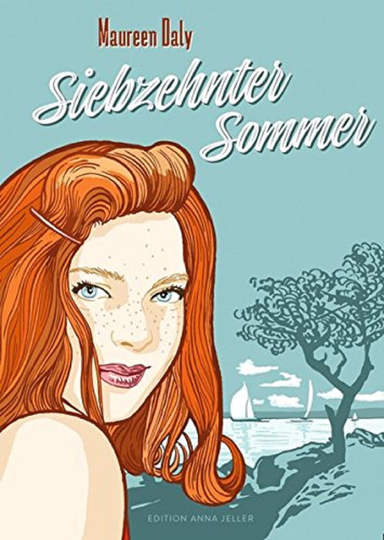 "Cover ""17. Sommer"" von Maureen Daly"