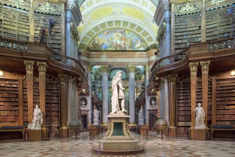 Aus dem Rahmen  650 Jahre Nationalbibliothek