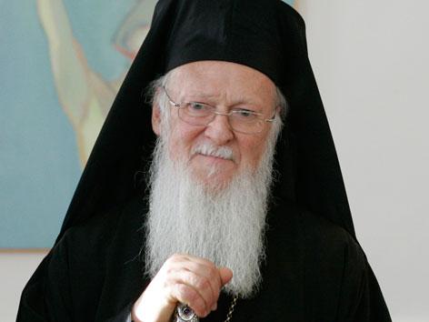 Der Ökumenische Patriarch Bartholomaios I.