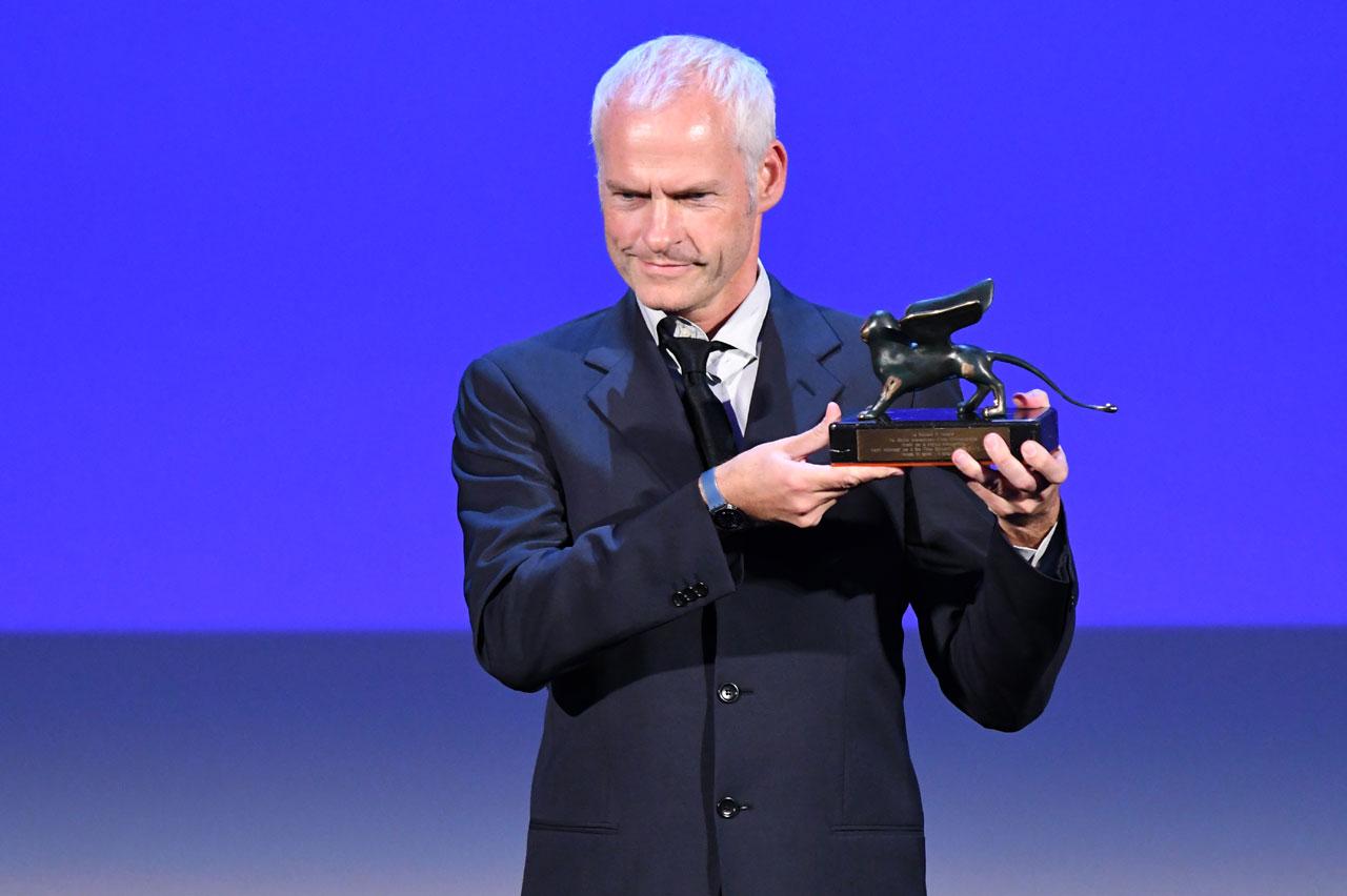 Martin McDonagh bei Preisverleihung der Filmfestspiele von Venedig