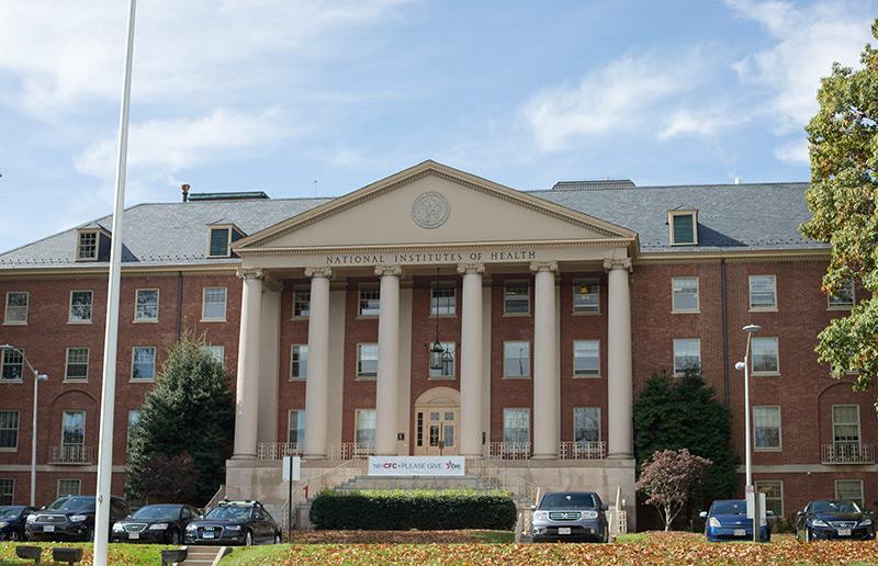 Campusgebäude der NIH