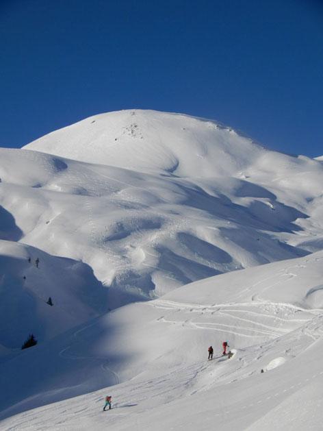 Skitour in den Kitzbühler Alpen
