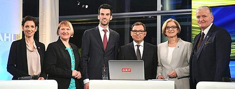 Die Spitzenkandidatinnen und Spitzenkandidaten der Landtagswahl in Niederösterreich ORF-NÖ-Chefredakteur Robert Ziegler