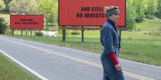 Frances McDormand vor 2 Billboards