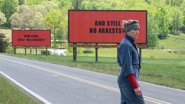 "Movie Minute:  ""Three Billboards Outside Ebbing, Missouri"""