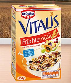 Das Vitalis Früchtemüsli