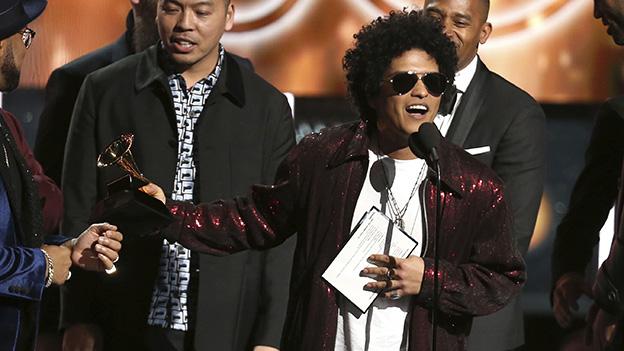 Bruno Mars bei den Grammys 2018