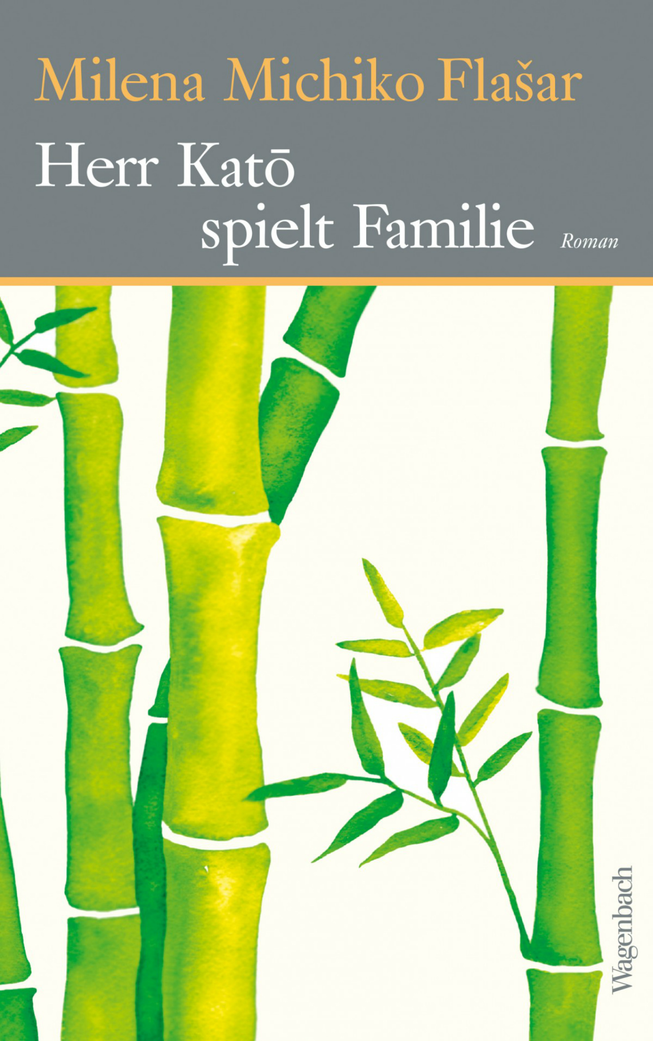"""Buchcover """"Herr Katō spielt Familie"""" von Milena Michiko Flašar"""