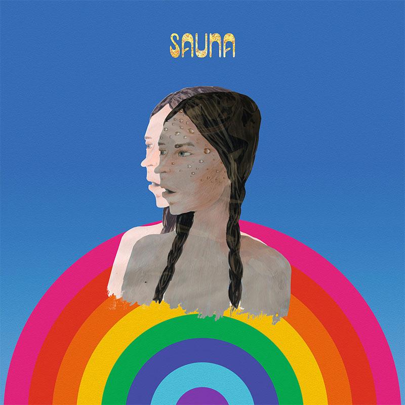 """Plattencover von Leyyas """"Sauna"""""""