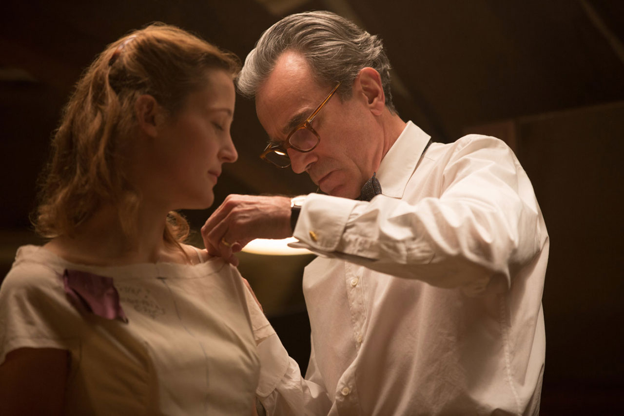 "Filmstills aus ""Phantom Thread"""
